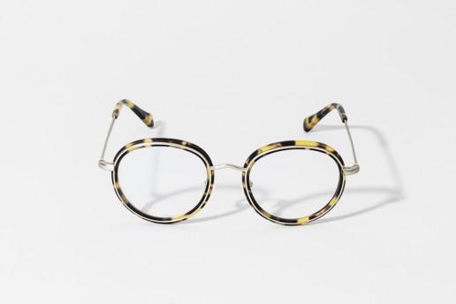 Occhiale in celluloide Epos colore tartaruga e metallo argento. Collezione Leggenda. Misure 49□20 asta 145