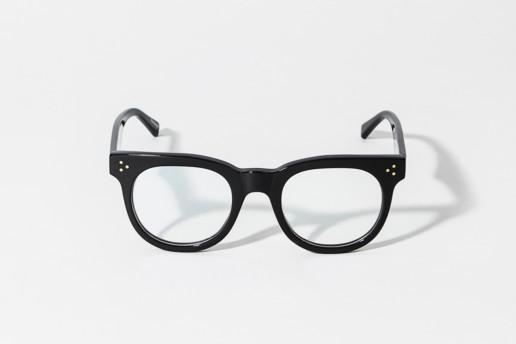 Occhiale da vista Epos in celluloide colore nero. Occhiale serie Leggenda. Misure 48□22 asta 145