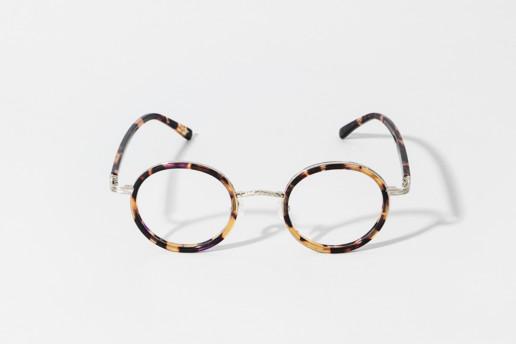 Occhiale in celluloide Epos colore tartaruga TR e metallo colore argento. Collezione Leggenda. Misure 45□23 145